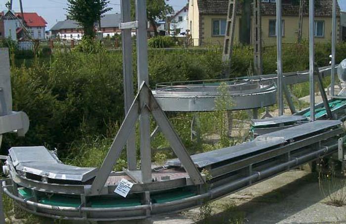 Używane Transporter płytkowy nawrotny kąt 150 stopni - płytki PP/PS