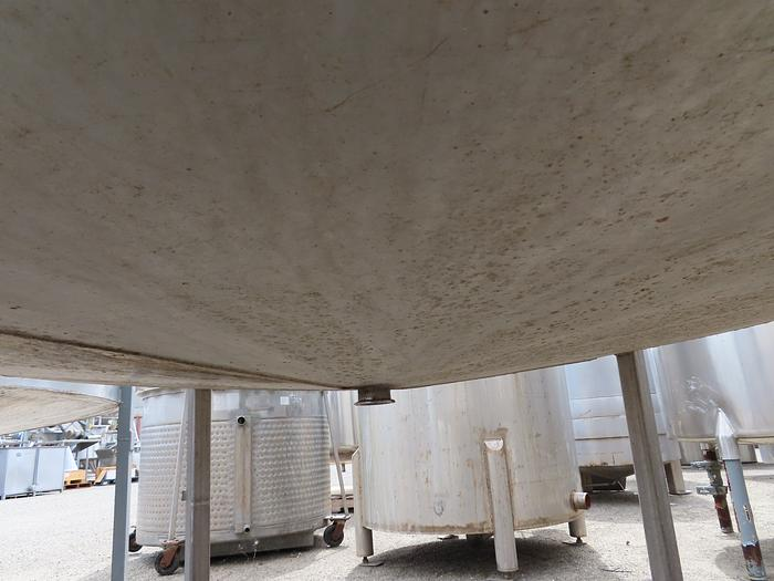 885 Gallon Vertical Stainless Tank
