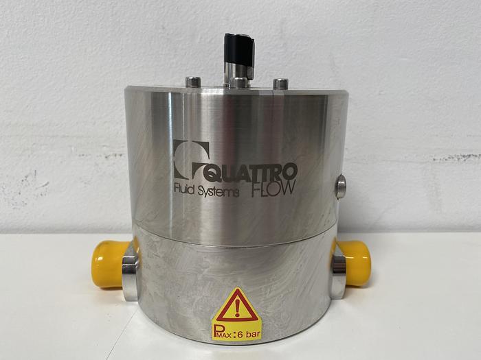 Almatec Quattroflow  1200-S 5° Stainless Steel Pump Head