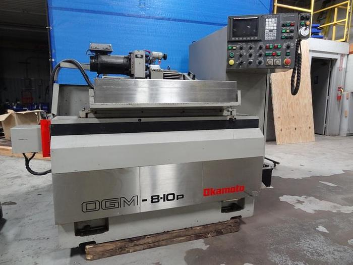 OKAMOTO OGM 8-10P PLAIN PROGRAMMABLE CYLINDRICAL GRINDER