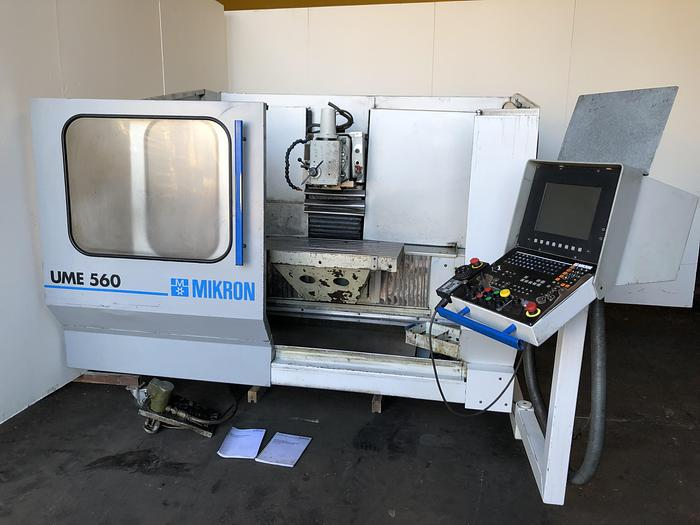 CNC milling machine Mikron UME 560