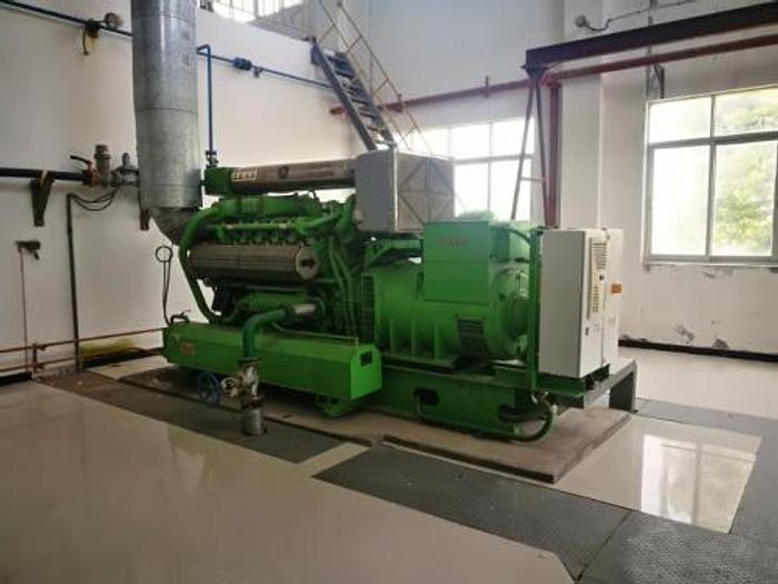 0.635 MW (635 KW) 2012 Used Jenbacher JGS312 Natural Gas Generator Set