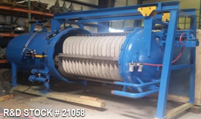 "Refurbished Industrial Filter Type 122.902, Model ""D"", 412Sq.Ft., Size 60-4-16"