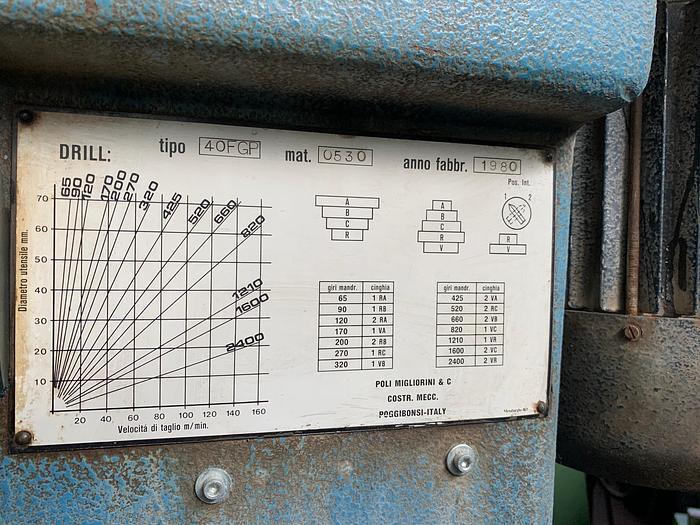 Trapano Fresa Drill 40 FGP