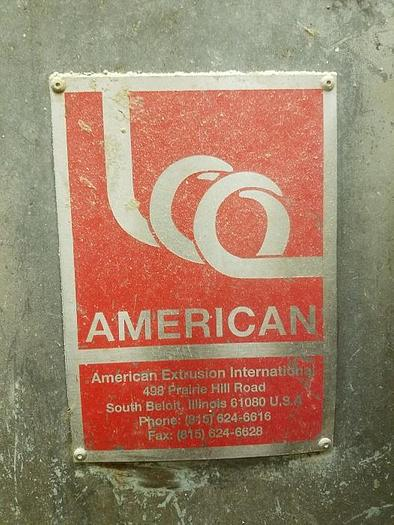 2000 AMERICAN EXTRUSION ADVANTAGE 50 BAKED EXTRUDER (2 AVAILABLE)