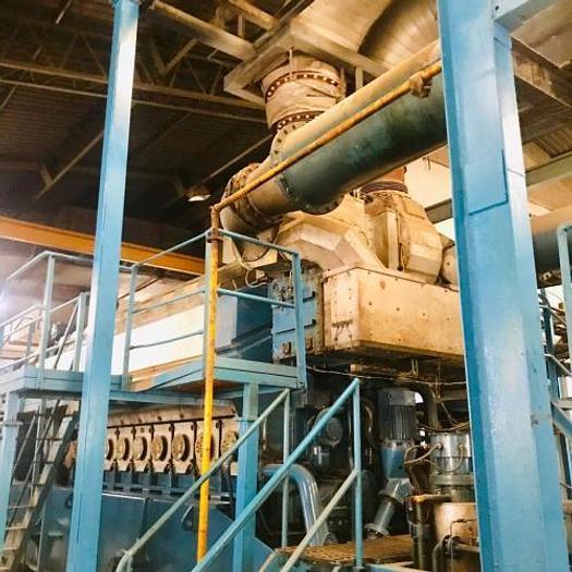 7.7 MW 2007 Used Wartsila W18V32 HFO Generator