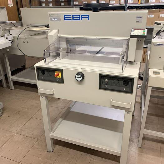 Used Pre-owned EBA 480 / IDEAL 4810-95EP 99-Program Guillotine