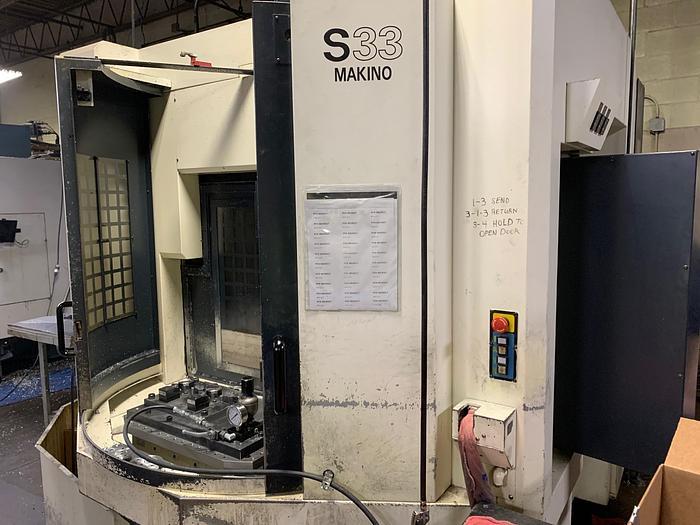 Makino  S33 APC Vertical Machining Center