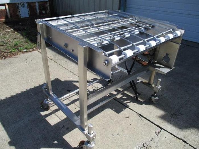 "Used Koppens Conveyor; Md#EC-900; 35""Wx3'L"