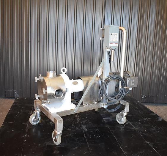 Used USED SINE POSITIVE DISPLACEMENT PUMP, MODEL MR130, STAINLESS STEEL