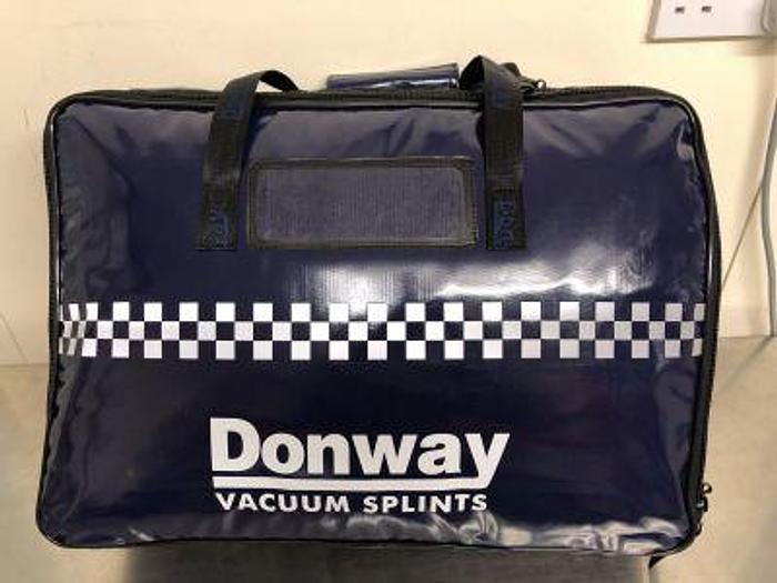 Donway Vacuum Splint Set in Case (New)
