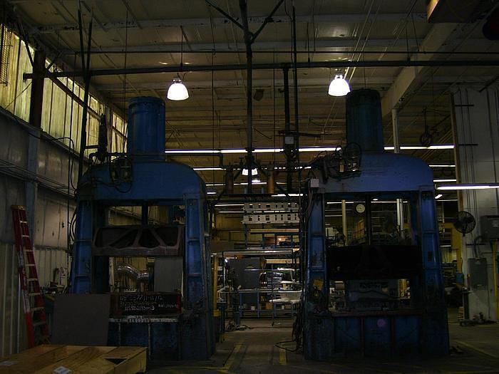 Used Chambersburg Cecostamp L drop hammers