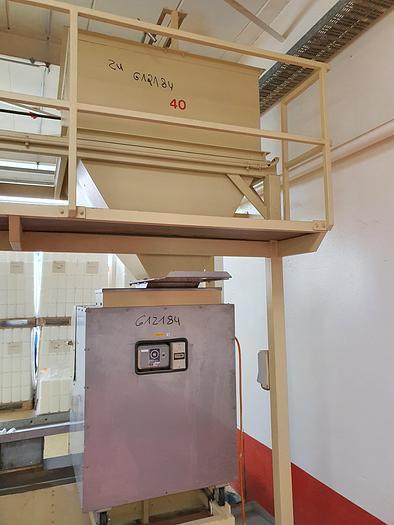 Gebraucht Mandelhalbiermaschine PEHA, Bj. 1983 600 mm Arbeitsbreite Leistung ca.350 kg/h