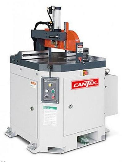 Cantek PCM-508 Pneumatic Cut-off Saw w/ Rotary Table