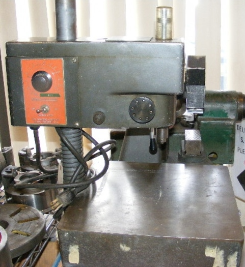 Dumore Model 37-021 High Speed Sensitive Drill Press 5360