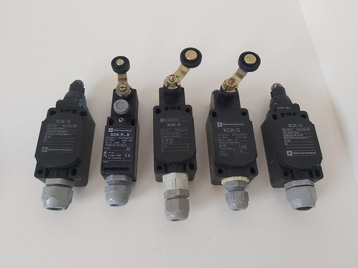 Gebraucht 5 Stück Endschalter, XCK-S, Telemechanique,  gebraucht-Top
