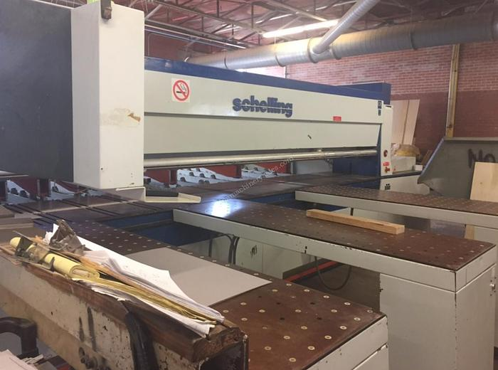 Schelling America FL 430/410 Rear Load Panel Saw