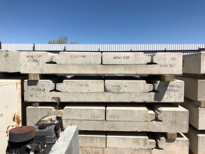 HB18242 rail crossing smooth concrete precast placers