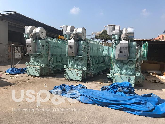 2.1 MW 2014 New Hyundai Himsen 9H25/33 HFO Generator
