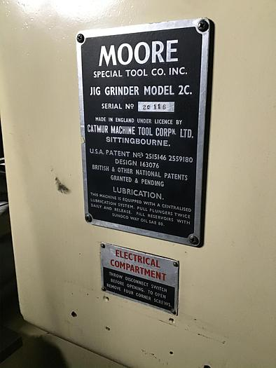 Moore Mdl. 2C Jig Grinder; Mint condition