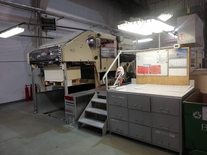 Used Bobst SP 1420 E (1975)