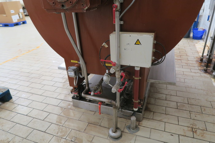 ARMAND DEPREST 1000kg MIXING TANK