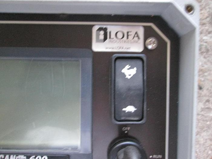 LOFA Engine Control Panel Canplus 600