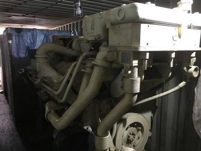 0.969 MW (969 KW) 2008 New Cummins KTA38-D(M1) Diesel Generator