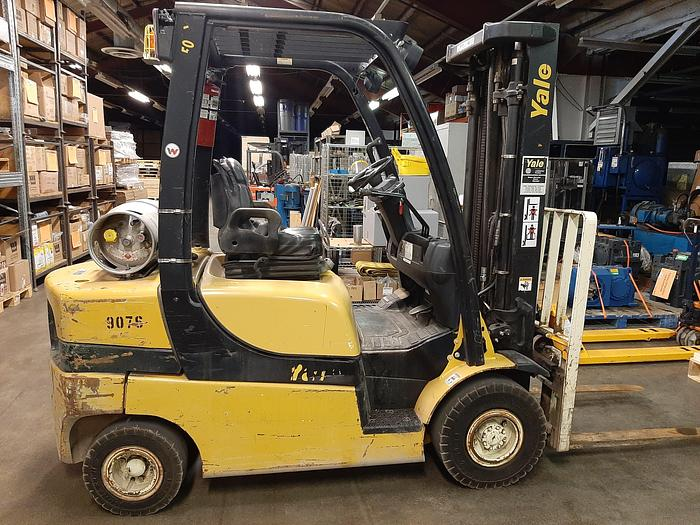 Used 2010 Yale GLP050LX 5000 lb. Propane Forklift