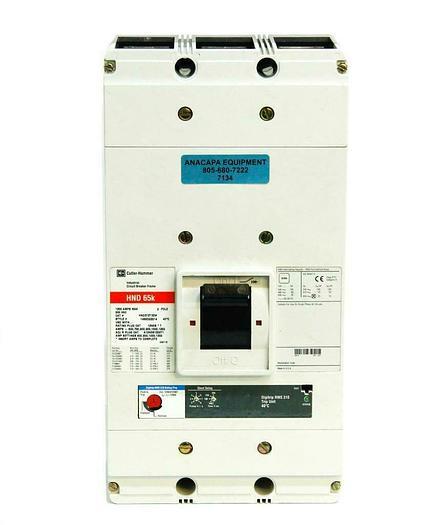 Used Cutler-Hammer (Eaton) HND 65K HND312T32W 3-Pole 1200 A Max Circuit Breaker (7134