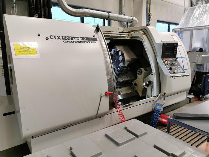 2001 CNC Drehmaschine GILDEMEISTER CTX 500 Serie 2
