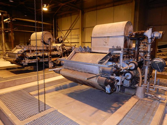 Used ANDRITZ  SMX-S 1.0 METER SLUDGE BELT PRESS  (2) AVAILABLE
