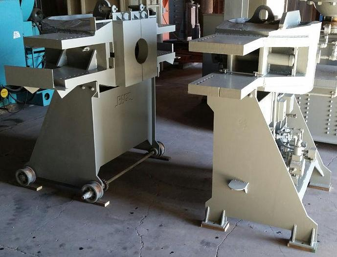 660 Ton Horizontal Wheel Press