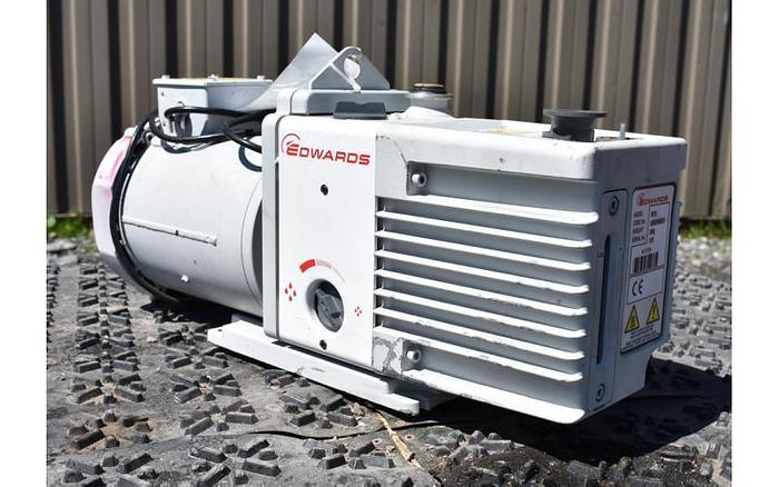 USED VACUUM PUMP, EDWARDS RV12, 10 CFM