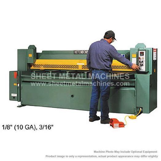 BETENBENDER Hydraulic Shear Model 6-125 6' x 10 ga