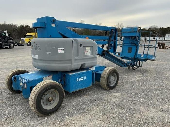 Used 2008 Genie Z45/25 DC Articulating Boom Lift 2WD