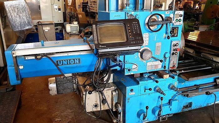 WMW UNION BFT 80/2 HORIZONTAL BORING MACHINE