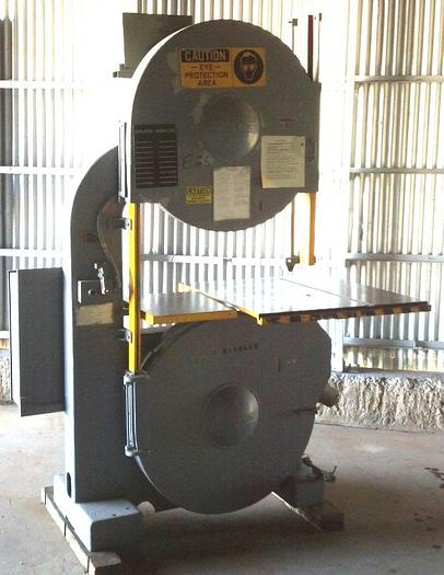 "36"" TANNEWITZ Model G3SE Vertical Band Saw"