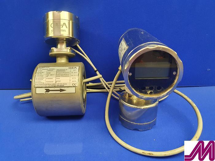 """Used 2011 GEA Diessel IZMAG 2"""" Stainless Steel Flow Meter with Display"""