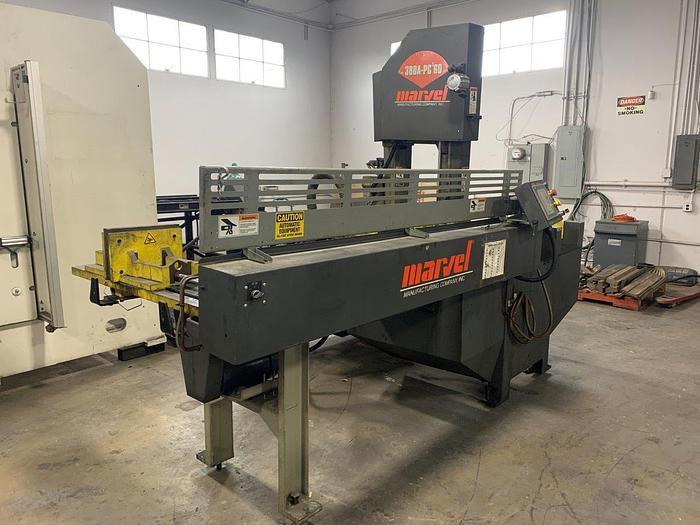 Used 2013 Marvel 380A-PC Vertical Tilt-Frame Band Saw