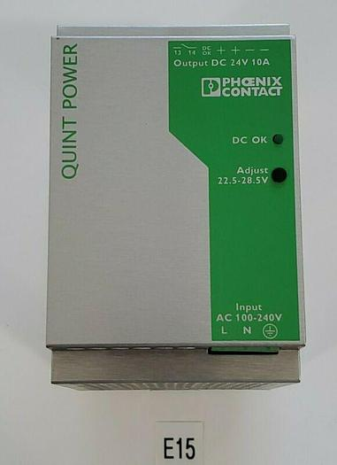 Used *PREOWNED* PHOENIX CONTACT QUINT-PS-100-2