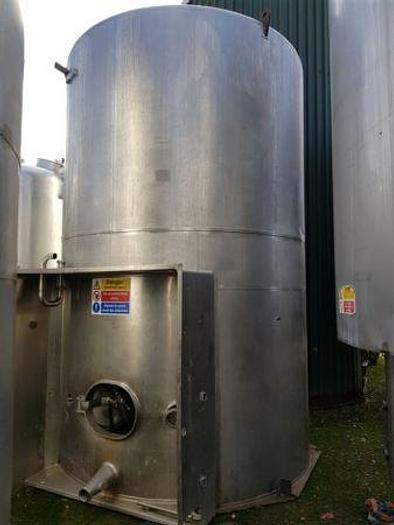 Used 17,000 Litre Stainless Steel Insulated Tank