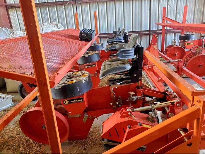 Used Checchi Magli Trium 45 Transplanter - 7 Row Units