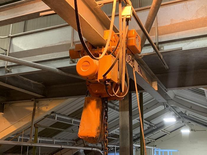 Used NITCHI EMT-5 Electic Hoist 2000kg