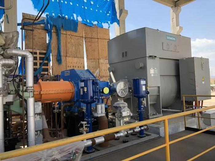 82 MW 2016 Used Siemens SGT-A65 (Trent 60) Natural Gas Combined Cycle Power Plant