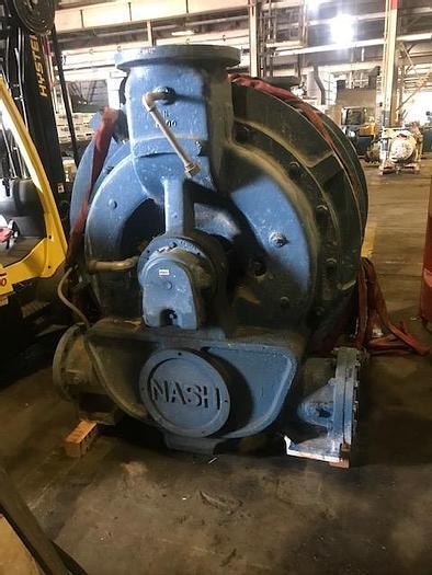 Used NASH CL6001G VACUUM PUMP REBUILT 2013