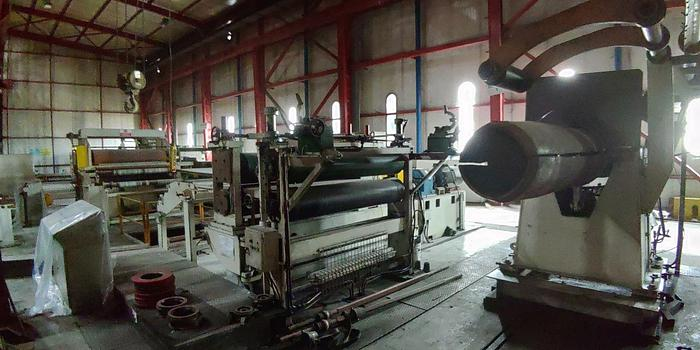 Two (2) 1550 mm Steel/Aluminum Slitting Lines: S-293