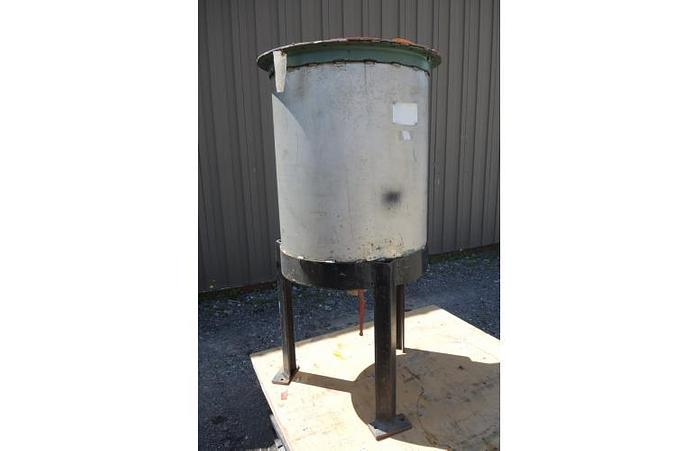 USED 60 GALLON TANK, STAINLESS STEEL