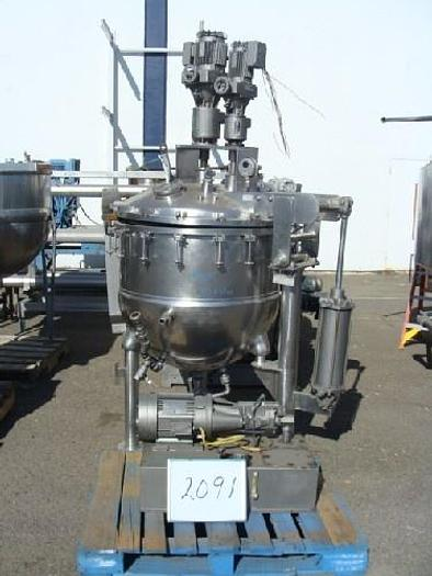 Used Groen 125 Gallon Jacketed Agitated Pressure Kettle