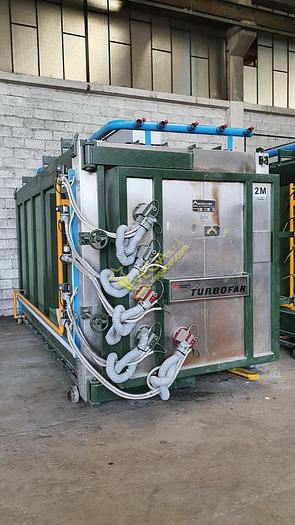 Used MUFFLED Gas turbo Kiln MORETTI mod. FTR4M